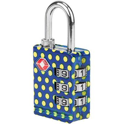 TRAVELON TSA三碼防盜密碼鎖(黃點)