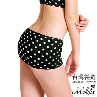 Mollifix Body偽妝術小尻UP美臀帶 M-L(黑加侖)
