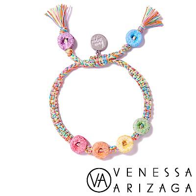 Venessa Arizaga RAINBOW LOOPS 甜甜圈手鍊
