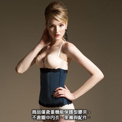 【曼黛瑪璉】魔幻美型  重機能保護型腰夾(靜甯藍)
