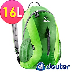【ATUNAS 歐都納】德國DEUTER 運動休閒旅遊後背包16L / 80154 綠
