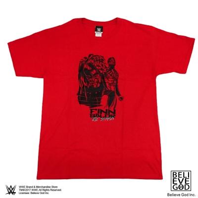 WWE正版授權WWE Finn BalorT恤(側臉紅色)