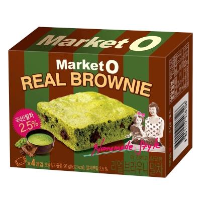 Market O 布朗尼蛋糕-抹茶風味(96g)