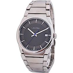 Calvin Klein ck Step 極簡紳士典藏時尚品味不鏽鋼腕錶 -38mm