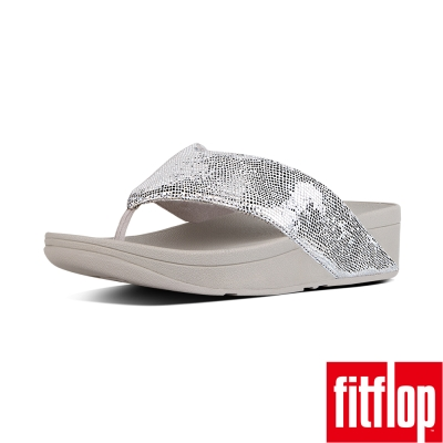 FitFlop SWOOP TOE-THONG-銀色