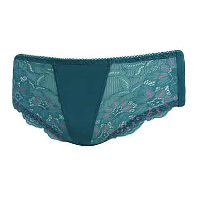 曼黛瑪璉 璀璨之旅III  中腰寬邊三角萊克內褲(浪漫綠)