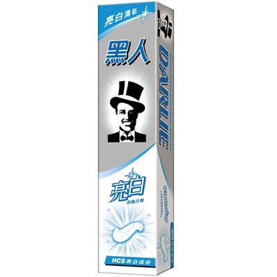 黑人亮白含氟牙膏 160g