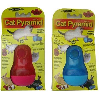 瑞典Nina Ottosson狗狗益智玩具-CatPyramid貓貓不倒翁、兩色