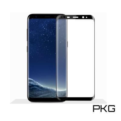 PKG Samsung Note8  保護貼-全滿版玻璃-黑框