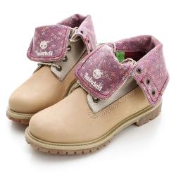 Timberland  經典翻領皮革靴款-白