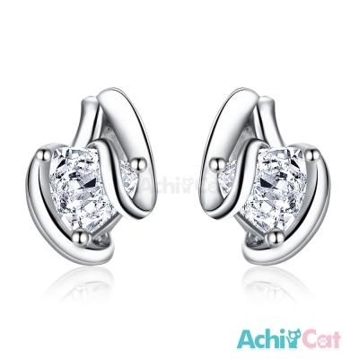 AchiCat 925純銀耳環 隨心所欲 純銀耳針