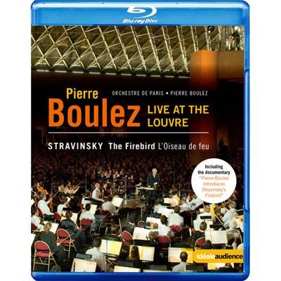 羅浮宮的火鳥 向布列茲致敬-法國羅浮宮博物館音樂會 BD