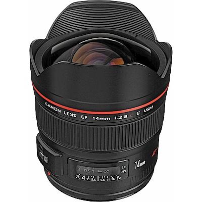 Canon EF 14mm f/2.8L II USM 超廣角定焦鏡頭(平行輸入)