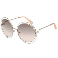 CHLOE金屬大框 太陽眼鏡 淡金色 CE114SD(小面版並可裝眼鏡鏈)