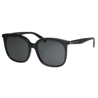 CELINE- 大方框 太陽眼鏡 (黑色)