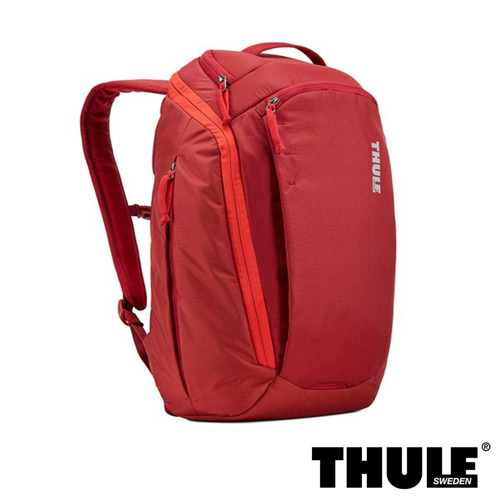 Thule EnRoute 23L 電腦後背包(緋紅/15.6 吋內筆電適用)