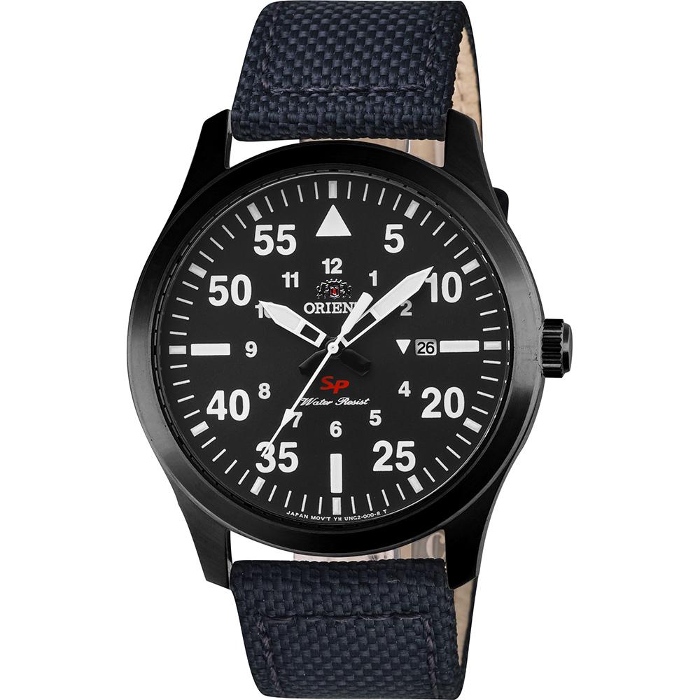 ORIENT東方 SP 飛行運動石英錶-灰x黑/42mm