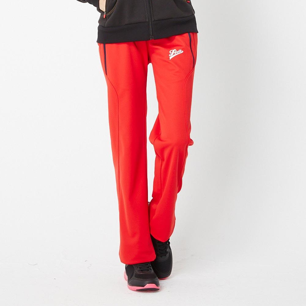 【TOP GIRL】修身休閒運動褲-紅色