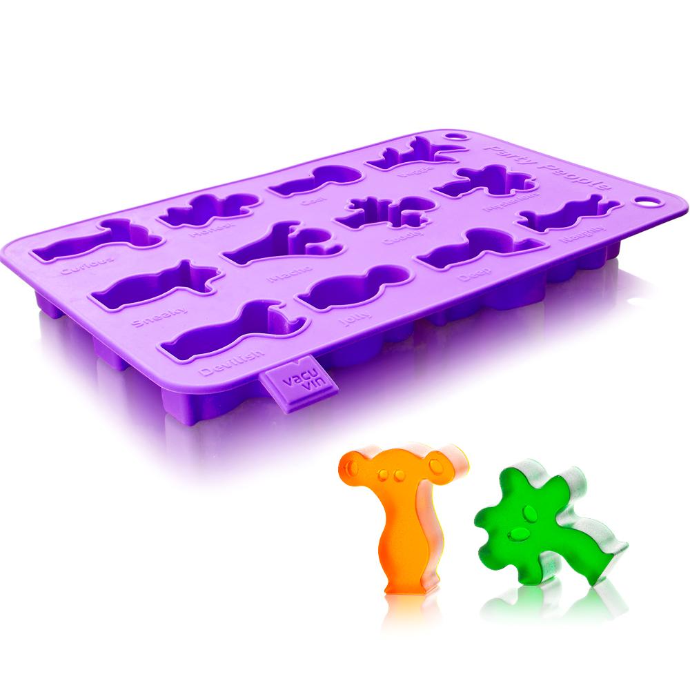 VACU VIN Ice 2in1 點心模製冰器(紫)