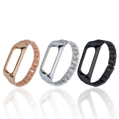 ANTIAN 新款 小米手環2 金屬替換腕帶