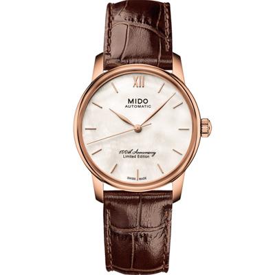 MIDO Baroncelli100週年限量腕錶(M0072366311800)/33mm