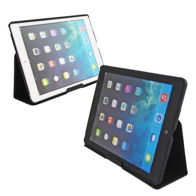 Obien iPad Air 可上鎖 鋁質背板 真皮保護套