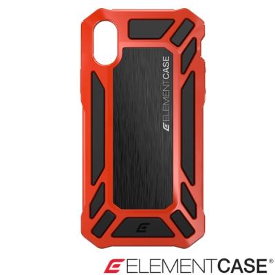 美國 Element Case iPhone X Roll Cage防摔手機保護殼 - 紅
