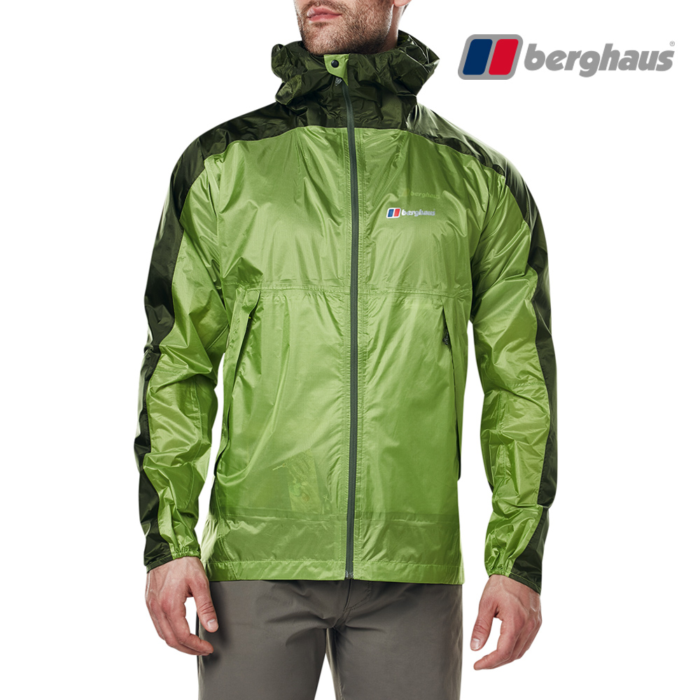 【Berghaus貝豪斯】男款Hydroshell防水透氣外套S02M07-綠