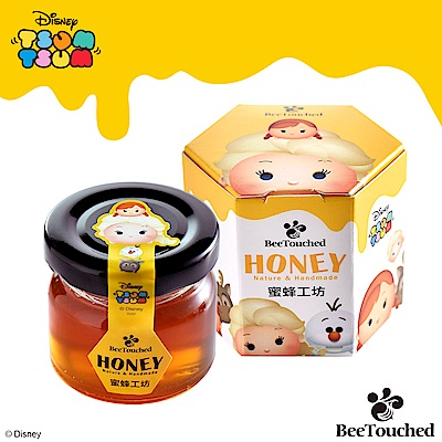 蜜蜂工坊 迪士尼tsum tsum系列手作蜂蜜艾莎款(50g)
