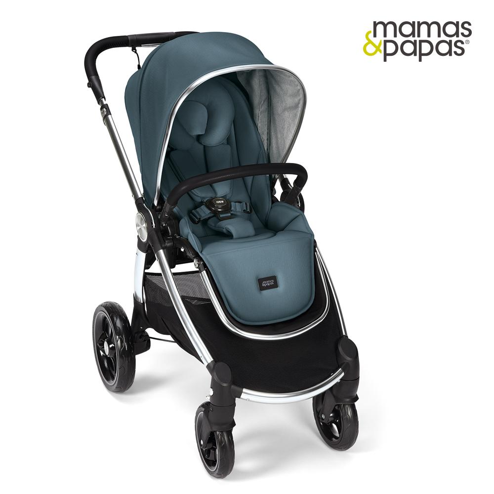 【Mamas & Papas】Ocarro 雙向手推車-薄霧藍
