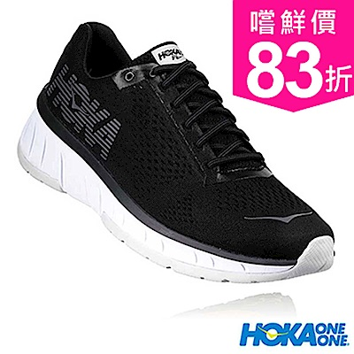 HOKA ONE ONE 男 CAVU路跑鞋 黑/白