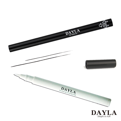 DAYLA極細緻軟毛防水眼線筆-零暈染彩妝修正筆