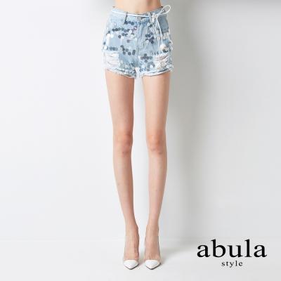 abula-style-亮片牛仔褲