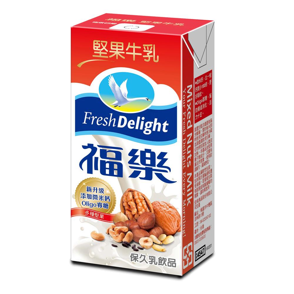 福樂 堅果口味保久乳(200mlx24入)