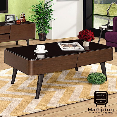 漢妮Hampton強納森4尺大茶几-116x64x42cm