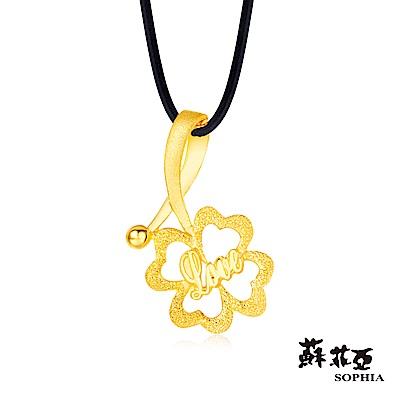 蘇菲亞SOPHIA - G LOVER系列幸運精靈黃金項鍊