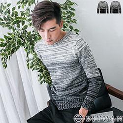 漸層混色針織毛衣