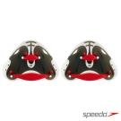 【Speedo】成人 競技型指力訓練划手板 BioFUSE 紅