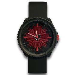 Wize&Ope Crunch系列-酷玩街頭潮流腕錶-硬派黑/47mm