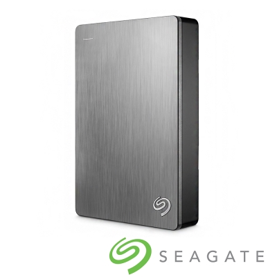 Seagate Backup Plus 4TB USB3.0 2.5吋行動硬碟-銀色