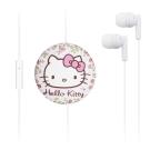 GARMMA Hello Kitty 伸縮耳機麥克風-優雅白