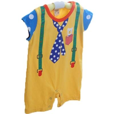 魔法Baby 寶寶短袖連身衣 k41002