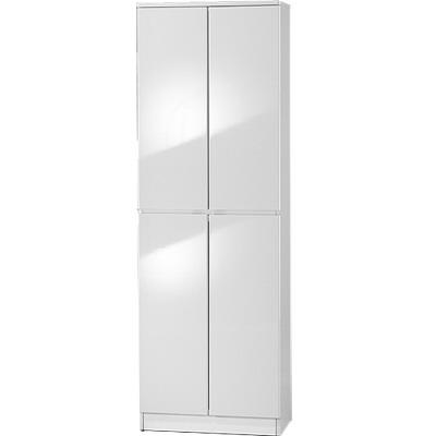 夢想家威尼斯2尺四密門鏡面PU書櫃