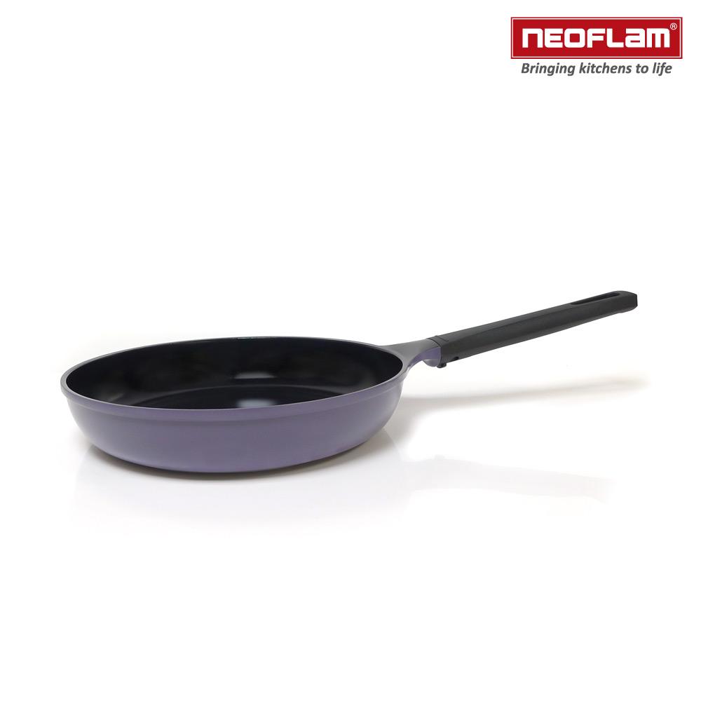 韓國NEOFLAM Mitra系列 28cm陶瓷不沾平底鍋