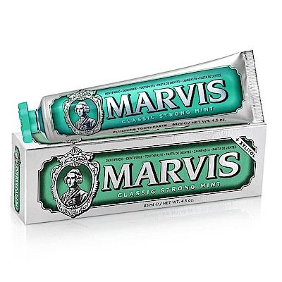MARVIS 經典薄荷牙膏 綠色85ml-快速到貨