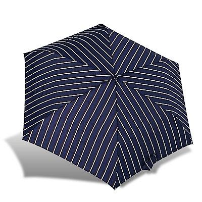 RAINSTORY英倫風尚條抗UV輕細口紅傘
