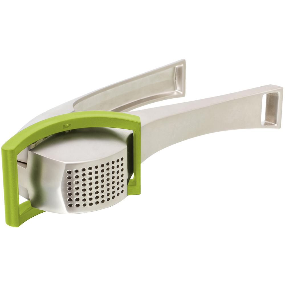TK 刮刀式壓蒜器(綠)