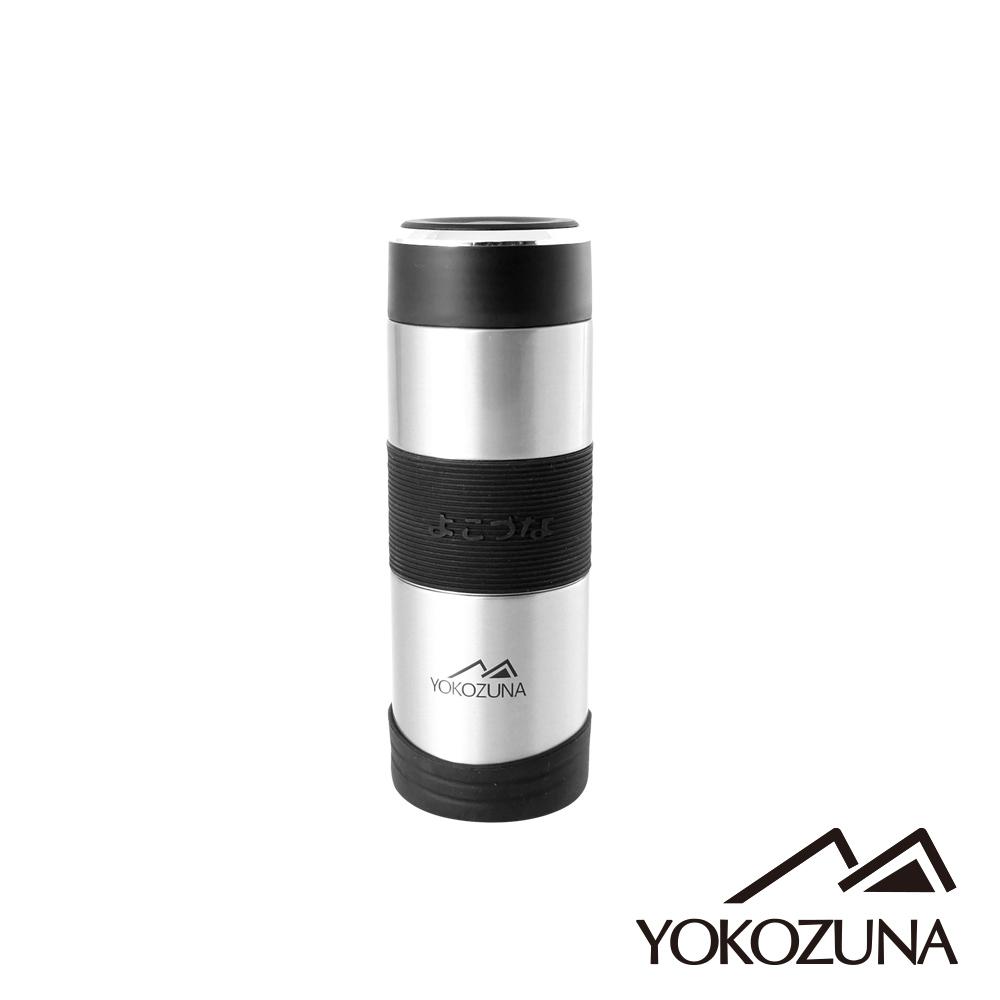 YOKOZUNA 316不鏽鋼活力保溫杯350ML(不鏽鋼色)