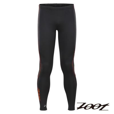 ZOOT頂級極致型抗寒輕肌能壓縮長褲(男(經典黑酷橘)Z1504055