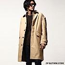 毛呢長大衣外套(10色) ZIP日本男裝